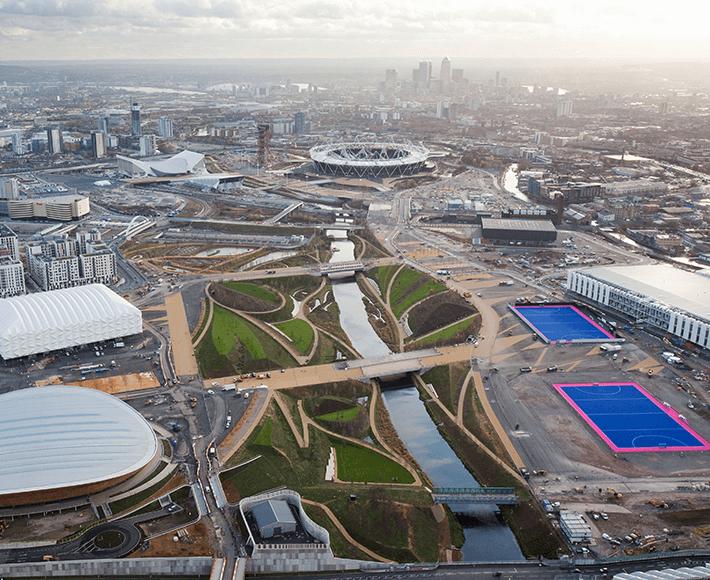 Queen Elizabeth Olympic 2012 Park