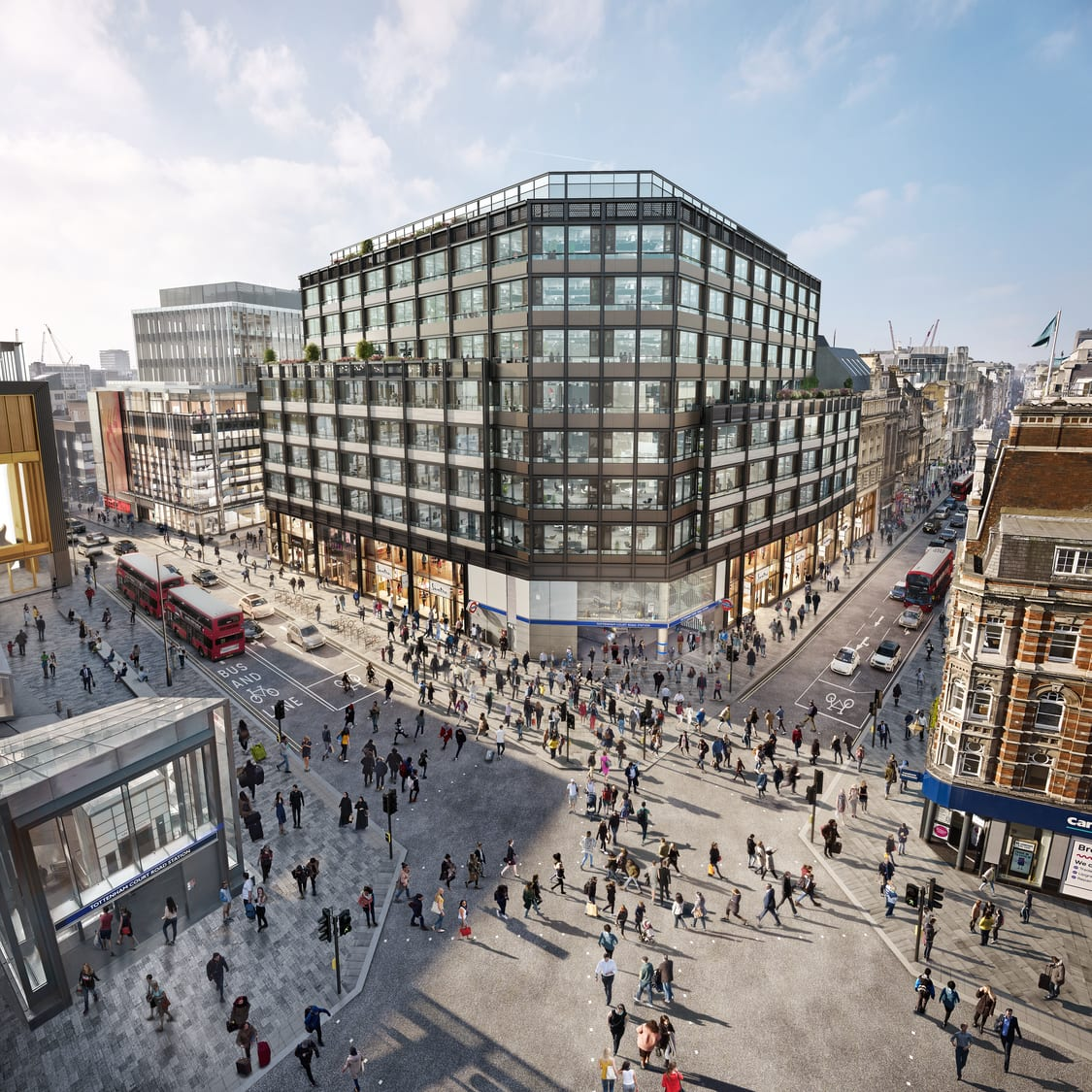 Over Site Development at Tottenham Court Rd